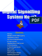 Digital Signalling- CCS7 Signalling
