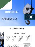 Ppt Material Handling Hoisting