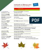 Millstätter Gastronomiebetriebe im Herbst 2013