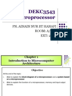 FChapter 1 - Introduction to Microcomputer