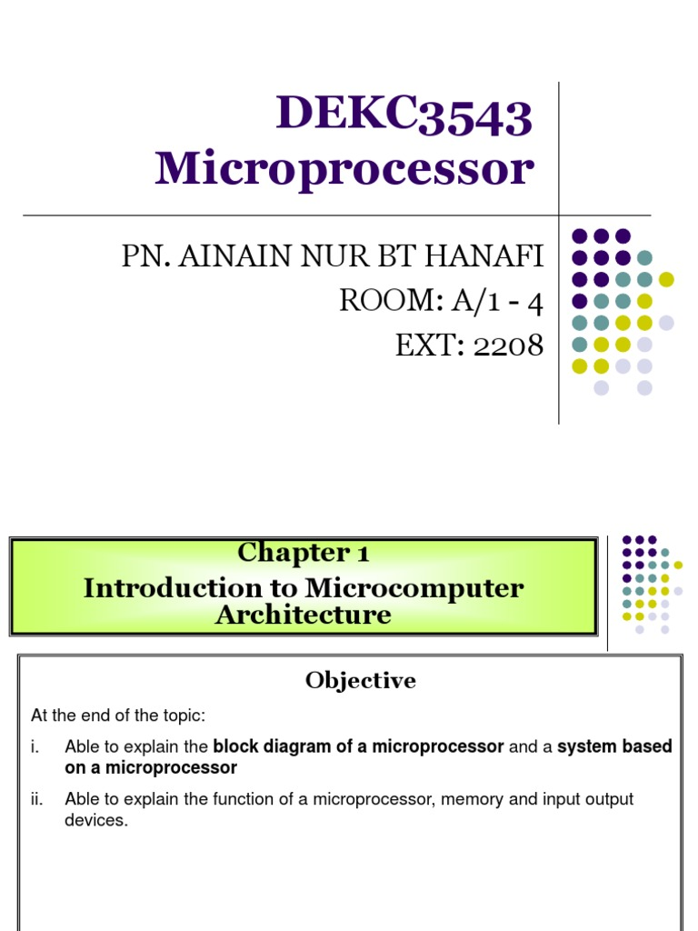 Fchapter 1 introduction to microcomputer microcomputers fchapter 1 introduction to microcomputer microcomputers central processing unit ccuart