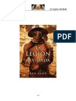 La legión olvidada - Ben Kane.pdf