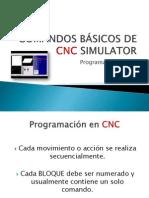 COMANDOS BÁSICOS DE CNC SIMULATOR