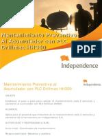 Mantenimiento Preventivo Al Acumulador Con Plc Drillmec Hh300