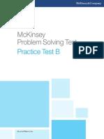 McKinsey Problem Solving Test - Practice Test B