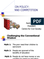 Edu Policy Ch Competition