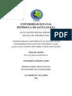 Comportamiento agronomico de cafe robusta segundo año; Rio Verde