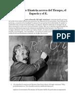Los Mitos de Einstein Acerca Del Tiempo