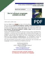 Studienbegleitender Deutschunterricht Die Lerner-CD-ROM