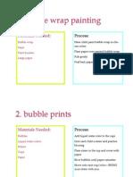 40 process art ideas