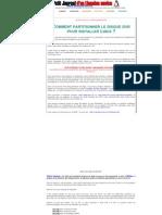 Partitionner Linux Et Windows