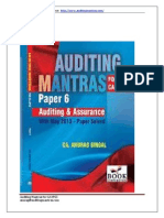 Sample for Auditing Mantras for CA IPCC