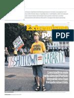 El Shutdown y el chantaje del Tea Party