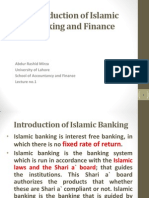 Lecture No.02 Introduction of Islamic Banking and Finance