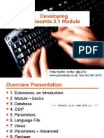 Developing a Joomla 3.x Module