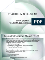Praktikum Skills Lab Blok Xv Sist Neuromuskuloskeletal