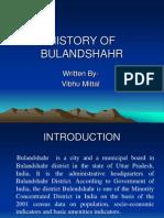 History of Bulandshahr