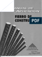 Aceros Arequipa - Manual de Aplicacion Para Fierro de Construccion 5th