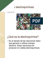 Celdas electroquimicas