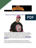 WWE's Breast Cancer Sham