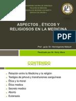 Aspectos Eticos y Religiosos en Medicina
