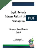 Programa Jogue Limpo - Logistica Reversa de Embalagens - SINDICOM