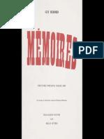 Guy Debord- Memoires