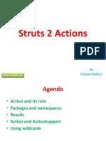 Struts 2 Actions