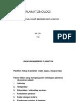 Kelimpahan Dan Distribusi Plankton. 8