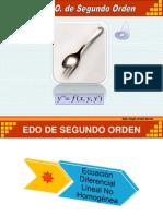 Ecuaciones Diferenciales Ordinarias de Segundo Orden 4 - Ing Civil