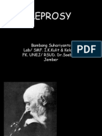 Leprosy [Prof. Bambang Sp. KK]