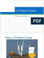 Heavy Lift Ships Cargo