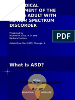 BIOMEDICAL TREATMENT OF THE  YOUNG ADULT WITH AUTISM SPECTRUM DISORDER