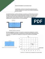 Distribucion de Velocidades y Presiones en Canales