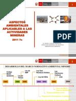 Aspectos Ambinetales Aplicables a La MIneria - 2011