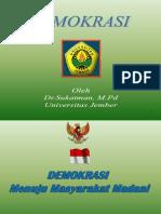 5 Demokrasi Indonesia