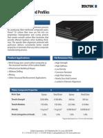 Datasheet Panex 35 Pultruded Profiles