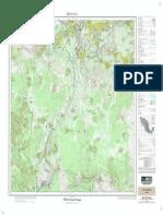 Carta Topografica Milpa Alta E14A49