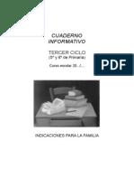 REUNIÓN DE AULA Tercer ciclo Primaria INFORMACIÓN TUTORIAL