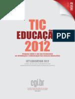 Tic Educacao 2012