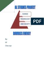 Biomass Energy - A short paragraph
