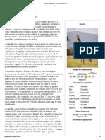 Girafa – Wikipédia, a enciclopédia livre
