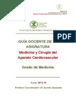 Medicina y Cirugía del Aparato Cardiovascular