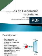 Cálculos de Evaporación Instantánea97.ppt