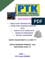 Contoh Penelitian Tindakan Kelas (PTK)