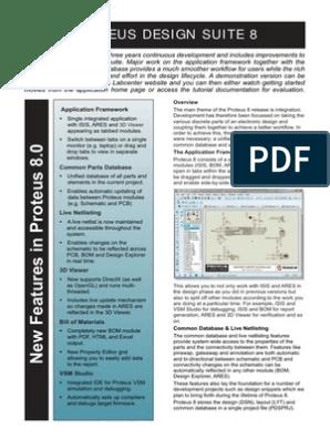 Proteus 8 Flyer | Tab (Gui) | Integrated Development Environment