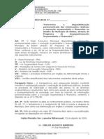 PROJETO- DE-LEI - transparência execução orçamentária