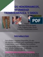 transtornos hemodinamicos fisiopatologia