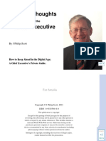 Digital Thoughts for the Chief Executive - 2001, J Philip Scott Nzebooks