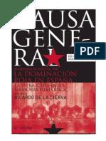 Ricardo de La Cierva - Causa General